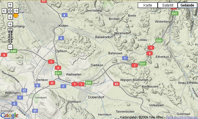 Kartografie bei Google Maps: Meistens gut, manchmal nicht so ganz.