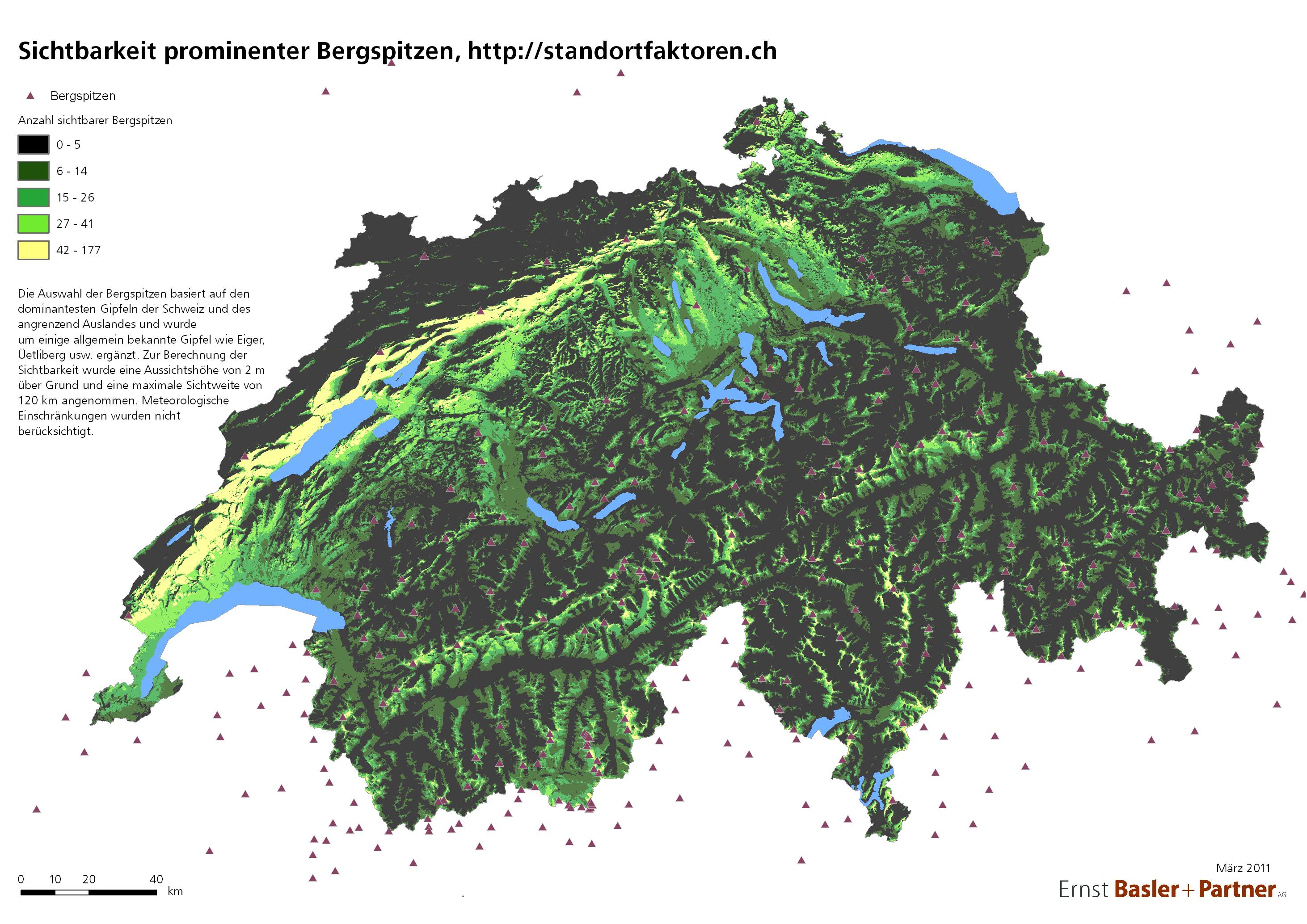 Jetzt neu: Durchlässige Grenzen bei der Schweizer Bergsicht