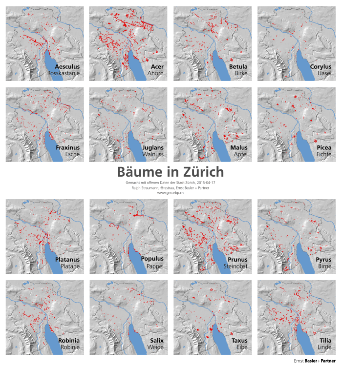 Informationsvisualisierung: Small Multiples