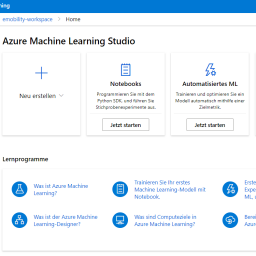 Machine Learning in der Microsoft-Cloud: Azure ML und Machine Learning Studio